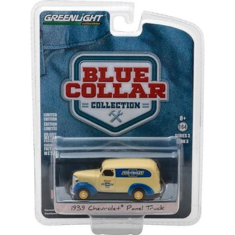 "Image of GREENLIGHT 1/64""Genuine Chev Parts""1939 Chevrolet Panel Tr"