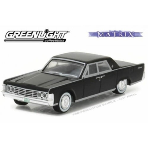 GREENLIGHT 1:64 THE MATRIX (1999) - 1956 LINCOLN CONTINENTAL (GL44770-C)