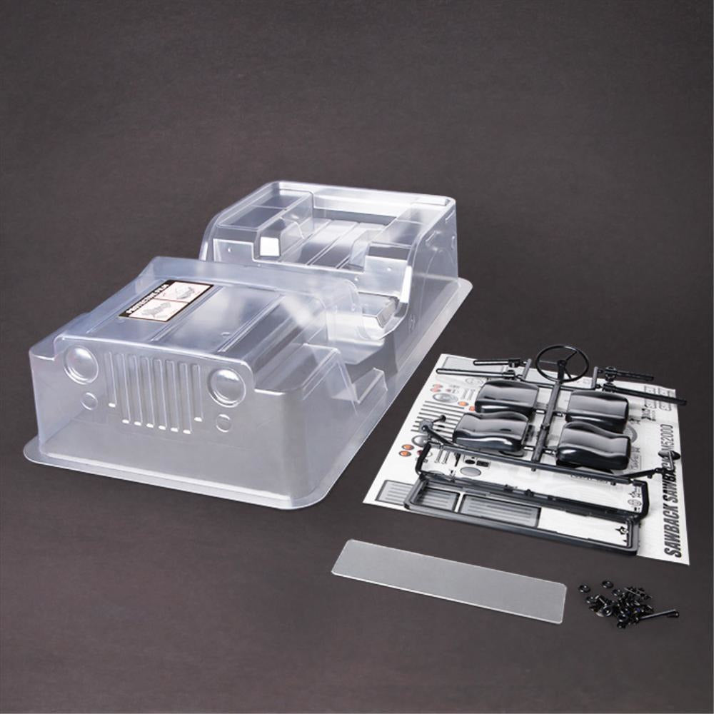 GMADE Sawback Clear Body Set (GM40020)
