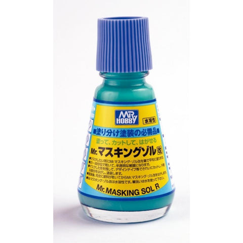 MR HOBBY Mr Masking Solution R - M133 - Hearns Hobbies Melbourne - MR HOBBY