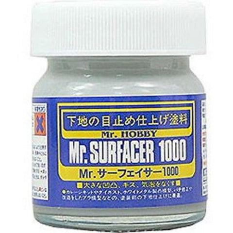 MR HOBBY Mr Surfacer 1000 - SF284 - Hearns Hobbies Melbourne - MR HOBBY