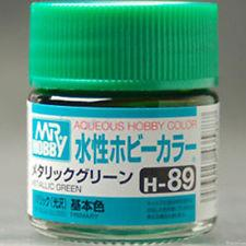Image of MR HOBBY Aqueous Metallic/Gloss Green - H089