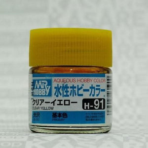 MR HOBBY Aqueous Gloss Clear Yellow - H091