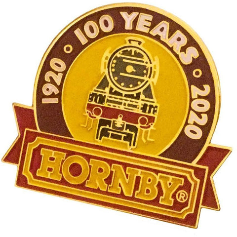 HORNBY Centenary Year Collectables: Gold Plated 100 Year Anniversary Badge