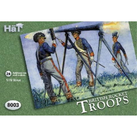 Image of HAT 1/72 British Rocket Troops
