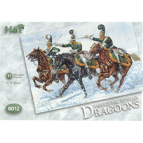 Image of HAT 1/72 Napoleonic Russian Dragoons