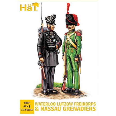 HAT INDUSTRIES Lutzow Freikorps and Nassau Grenadiers