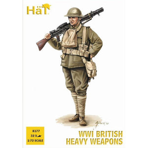 HAT 1/72 WWI British Heavy Weapons