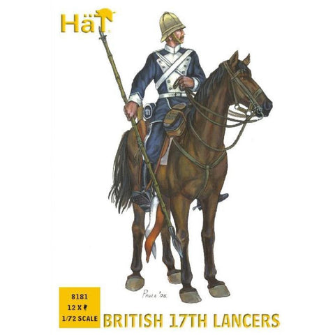 Image of HAT 1/72 British 17th Lancers