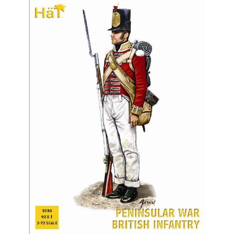 Image of HAT Peninsular War British Inf