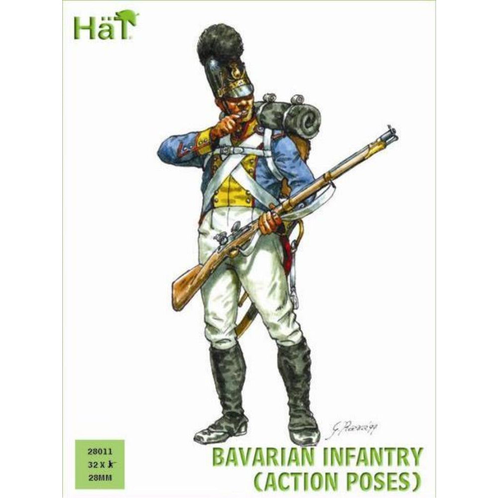 HAT INDUSTRIES Bavarian Infantry Action Poses