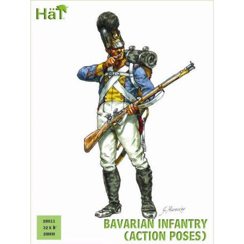 Image of HAT Bavarian Infantry Action Poses