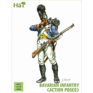 HAT Bavarian Infantry Action Poses