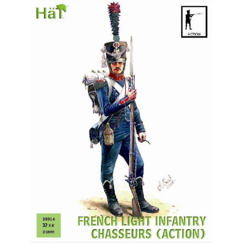 Image of HAT French Chasseurs Action