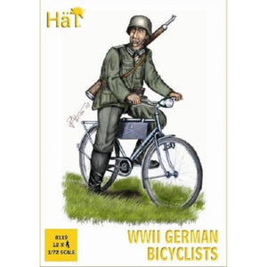 HAT WWII Germans on bicycles
