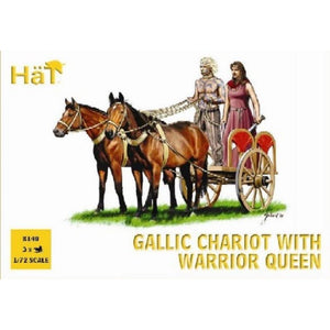 HAT Celtic Chariot with Queen