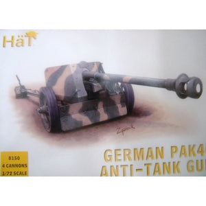 HAT 1/72 WW2 German PaK40 Anti-Tank Gun