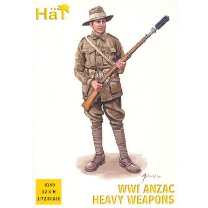 HAT INDUSTRIES WWI ANZAC Heavy Weapons