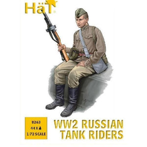 HAT 1/72 WWII Russian Tank Riders