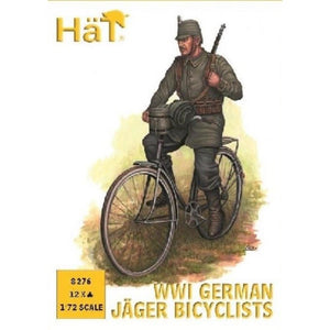 HAT 1/72 WWI German Jaeger Bicylists