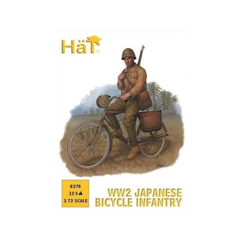 HAT INDUSTRIES WW2 Japanese Bicylists