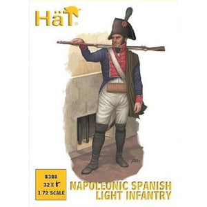 HAT 1/72 Napoleonic Spanish Light Infantry