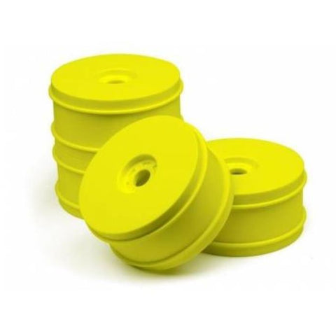 HB 1/8 BUGGY DISH WHEELS V2 (YELLOW/4pcs) ( HB114202 )