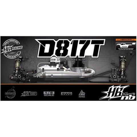Image of HB D817T 1/8 Competition Nitro Truggy