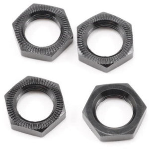 HB 17mm Wheel Nut (Black/4pcs)