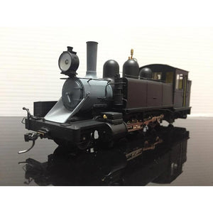 HASKELL NA Class Puffing Billy Locomotive - Black (Modern Smoke Stack) (HK-NABM)