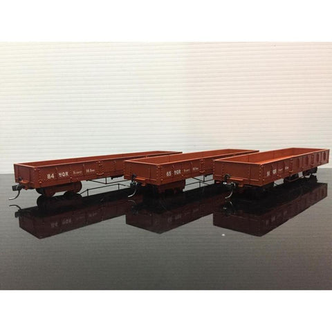 Image of HASKELL NQR Puffing Billy Wagons - Pack 5 (Lighter Brown)