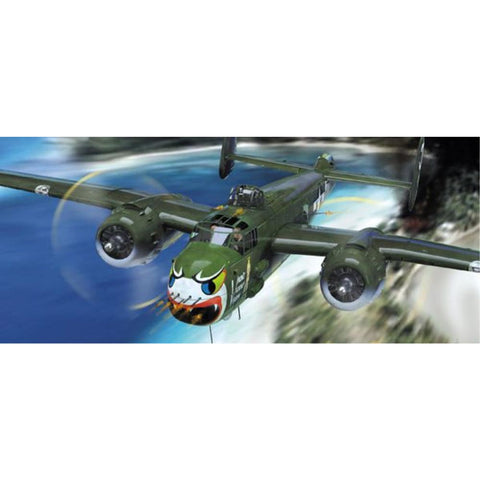 HONG KONG MODELS 1/32 B-25H Mitchell Gunship - Hearns Hobbies Melbourne - HONG KONG MODELS