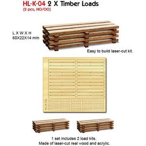 2 X Timber Loads (Kit)