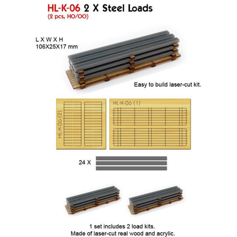 2 X Steel Loads (Kit)
