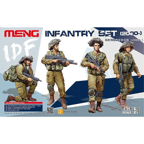 MENG 1/35 IDF Infantry Set (HS-004)