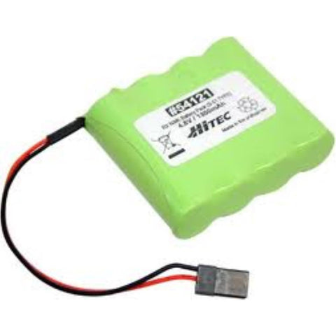 RX NiMH BATTERY PACK 4.8V, 1300mAh S-01(FLAT TYPE) - Hearns Hobbies Melbourne - Hitec