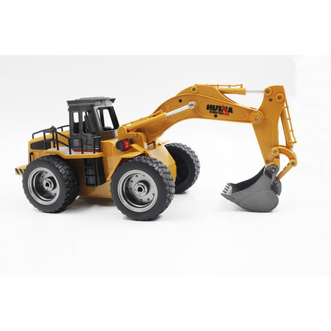 Image of HUINA 1/18 RC Construction Excavator