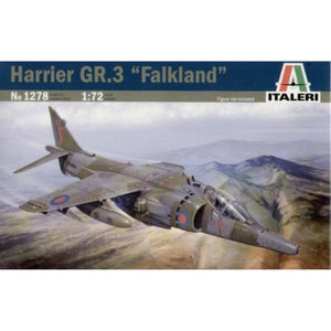 ITALERI 1/72 Harrier GR3 Falklands