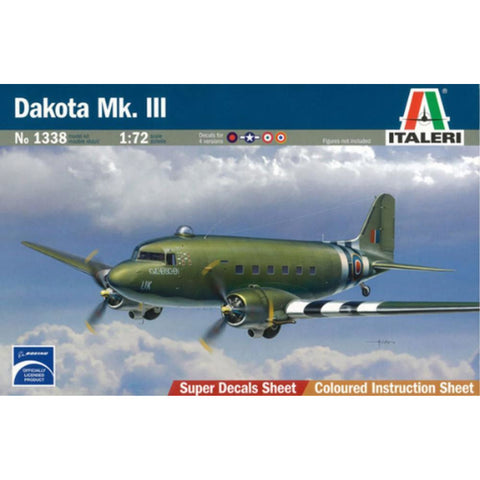 ITALERI 1/72 Dakota Mk.III Plastic Model Kit *Aust Decals*