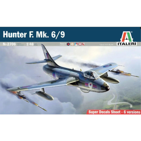 ITALERI 1/48 G HAWKER HUNTER FGA6/FGA9