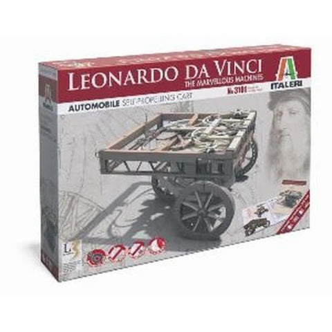 ITALERI Leonardo da Vinci Self Propelling Cart Plastic Mode