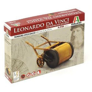 ITALERI Leonardo da Vinci Mechanical Drum Plastic Model Kit