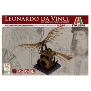 ITALERI Leonardo da Vinci Flying Machine (Ornithopter) Plas