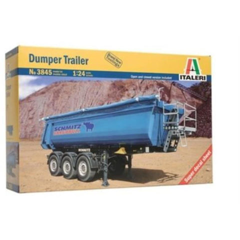 ITALERI 1/24 Dumper Trailer Plastic Model Kit