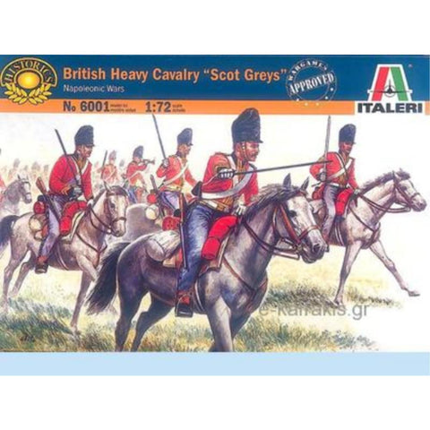 "ITALERI 1/72 British ""Scot Greys"" Napoleonic Wars Plastic Model Kit"