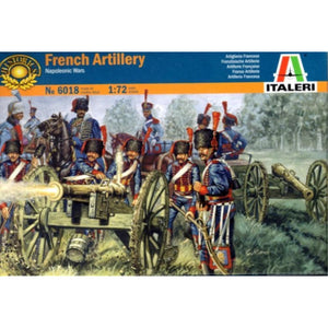 ITALERI 1/72 French Artillery Napoleonic Wars Plastic Model