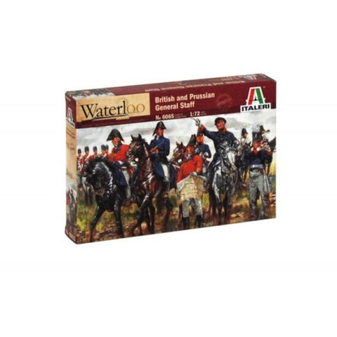 ITALERI 1/72 British & Prussian General Staff Napoleonic Wars Plastic Model Kit