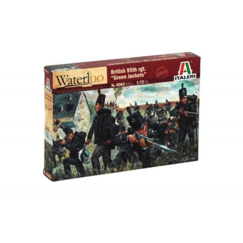 ITALERI 1/72 British 95Th Rgt. Napoleonic Wars Plastic Model Kit