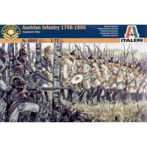 ITALERI 1/72 Austrian Infantry 1798-1805 Napoleonic Wars Plastic Model Kit