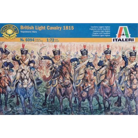 ITALERI 1/72 British Light Cavalry 1815 Napoleonic Wars Plastic Model Kit